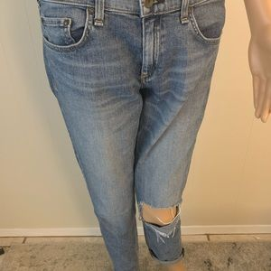 Rag & Bone The Dre Boyfriend Denim Jeans